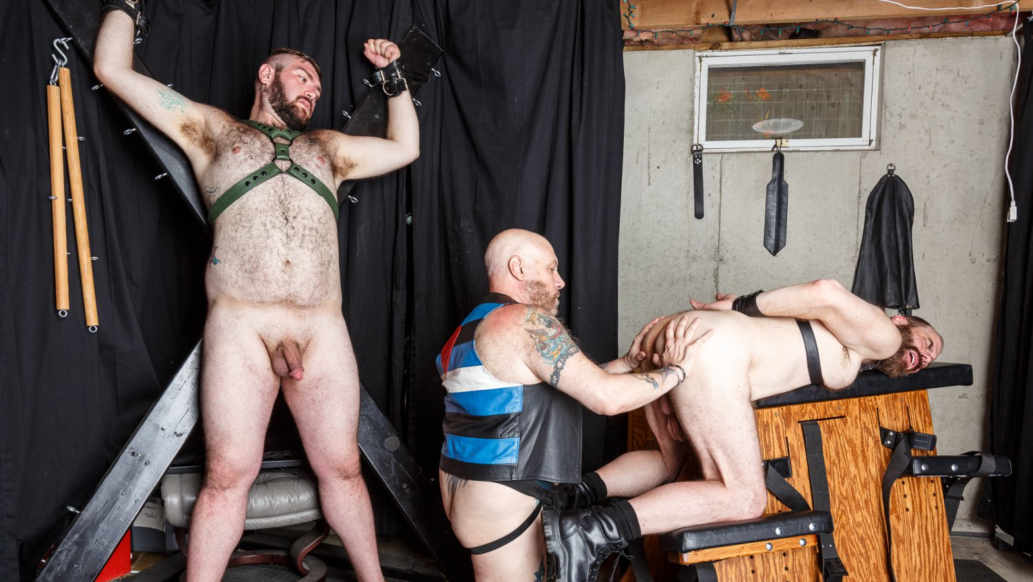 Hairy and Raw Gay Bear Sex Daddy Cub, Steve Sommers and Daddy Lucas Part 2