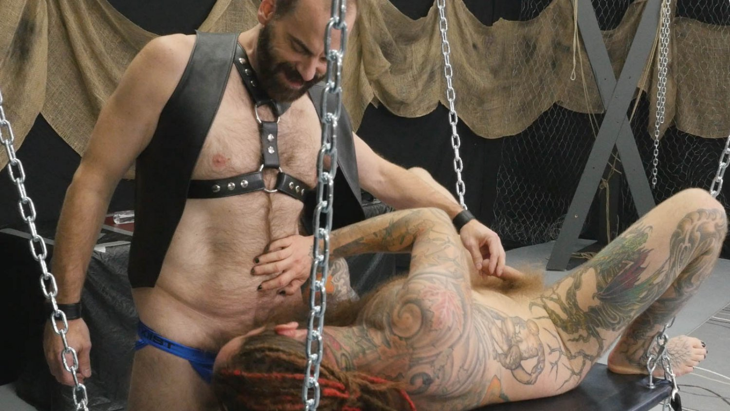 Hairy and Raw Gay Bear Sex Ass Pounding Arsenault Part 1