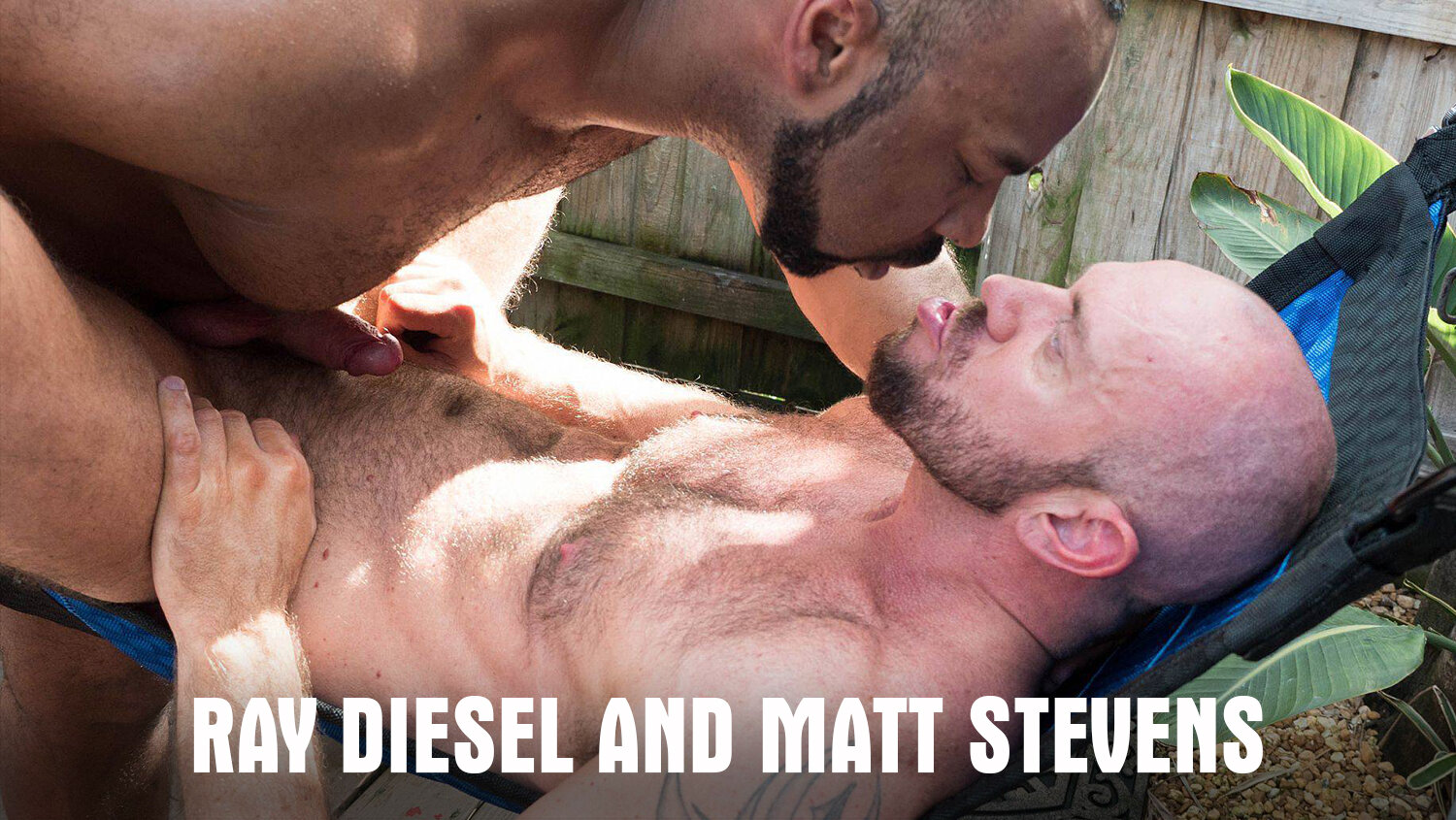 Hairy and Raw Gay Bear Sex Ray Diesel and Matt Stevens